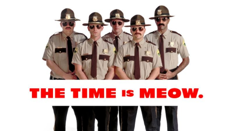 Illustration for article titled Crowdfunded Super Troopers 2 jumps all nimbly bimbly into production