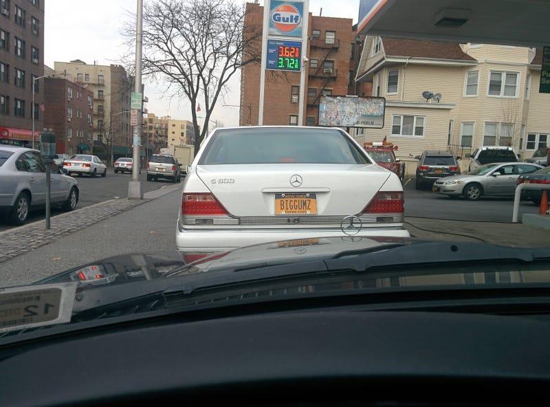 """Illustration for article titled Mercedes 600 """"BIGGUMZ"""""""