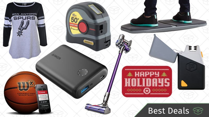 Illustration for article titled Sunday's Best Deals: 10% off Target Gift Cards, Dyson V6, Activewear, and More