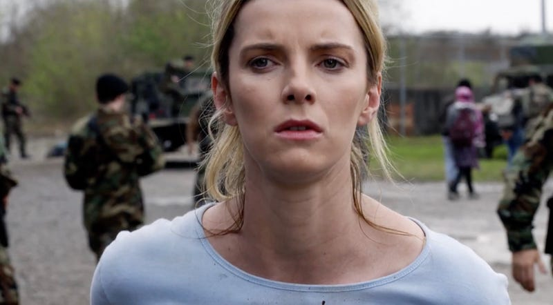 Betty Gilpin stars in new Blumhouse film The Hunt.