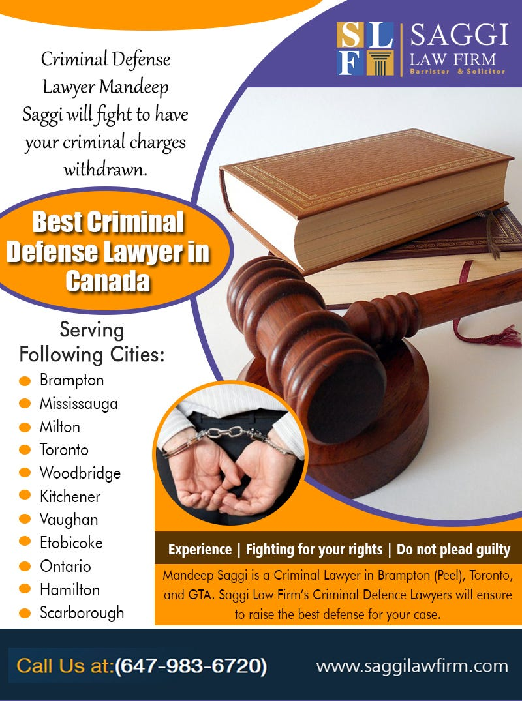 Illustration for article titled Best Criminal Defense Lawyer in Canada