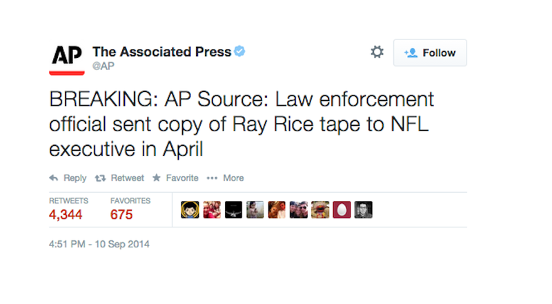 Illustration for article titled NFL Executives Definitely Got the Ray Rice Elevator Tape Months Ago