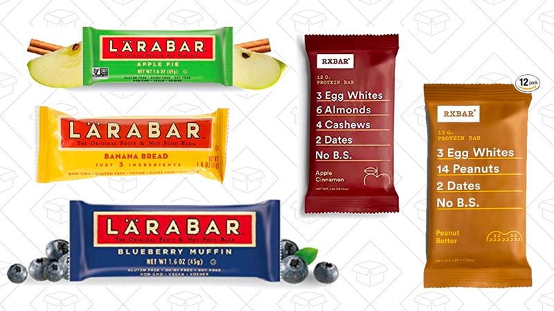 $3.50 - $5 off Larabars | Amazon | Clip coupon for discount15% off RxBars | Amazon | Clip coupon for discount