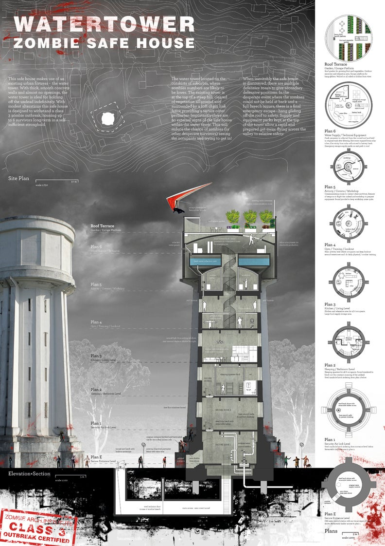 20 Ridiculously Nifty Zombie Safe House Designs on zombie apocalypse house, prefab round house plans, zombie survival home, zombie fortress house, tactical house plans, zombie protection house, fortress house plans, hurricane proof house plans, open modern house plans, big house plans, zombie fortified house, fortified house plans, survival house plans, bunker house plans, earthquake proof house plans, tornado resistant home plans, bunker silo plans, survival bunker plans, vintage house plans,