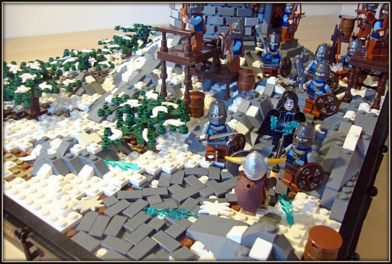 Illustration for article titled Skyrim LEGO Fries Plastic Stormcloaks