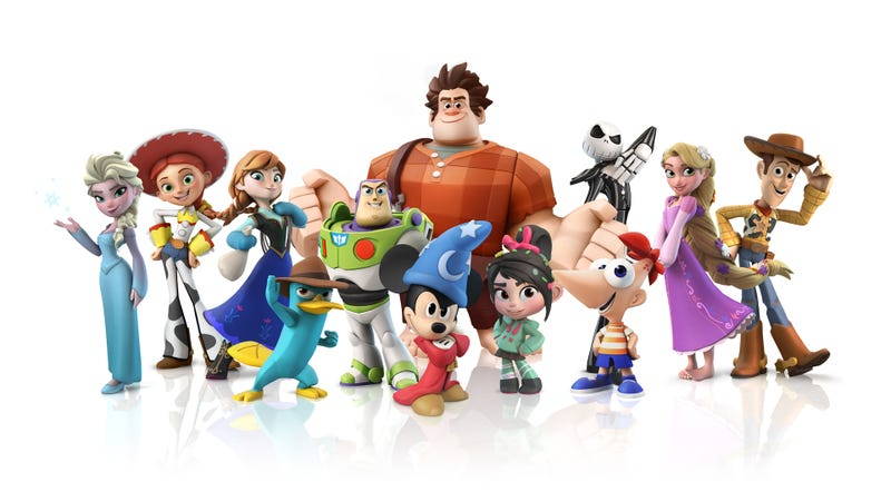 Illustration for article titled This New Character Lineup Is What's Cool About Disney Infinity