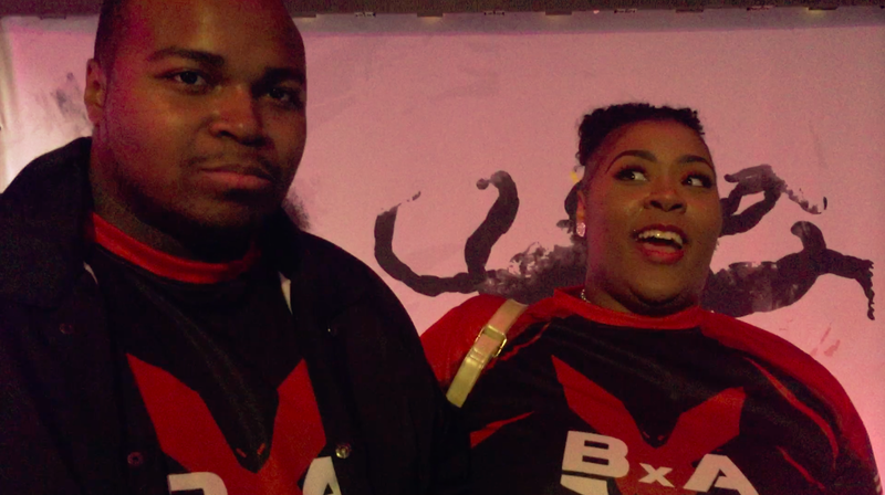 """Street Fighter pro Marcus """"The Cool Kid93"""" Redmond and Joy Goodwin, his hype woman and wife"""