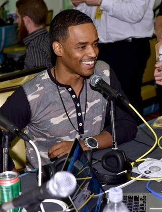 Actor Larenz Tate at the Radio Broadcast Center during the BET Awards on June 27, 2014, in Los Angeles  Alberto E. Rodriguez/Getty Images for BET