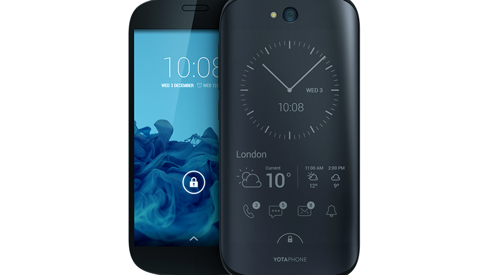 El smartphone de doble pantalla Yotaphone 2, ya a la venta en Europa