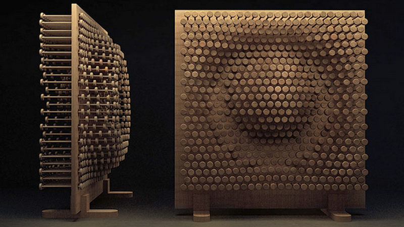 This Infinitely Configurable Pegboard Makes Storage Artful