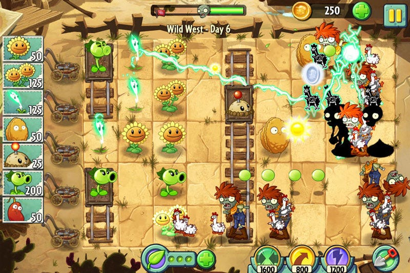 Illustration for article titled Plants Vs. Zombies 2 Launches Worldwide On Android