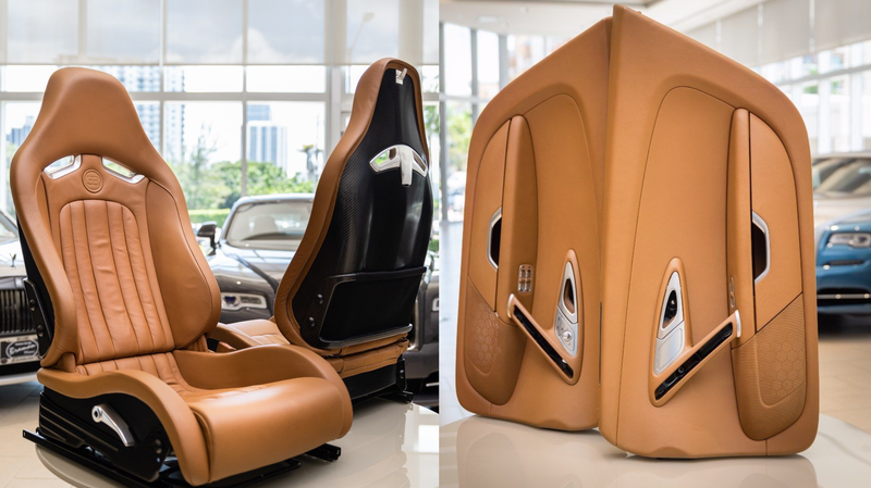 Illustration for article titled This 2008 Bugatti Veyron Interior Will Cost You a Mere $150,000
