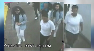 Two teens, shown in this video footage, were detained by police after they allegedly assaulted an elderly woman June 2, 2016, in New York City's Brooklyn borough. PIX 11 screenshot