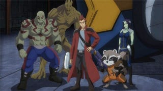 Illustration for article titled The Guardians Of The Galaxy's Anime Debut Must Be Seen To Be Believed