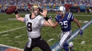 Illustration for article titled Drew Brees — To No One's Surprise — Looks Like Madden 11's Cover Man