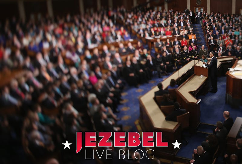 Illustration for article titled It's Jezebel's State of the Union Live Blog!