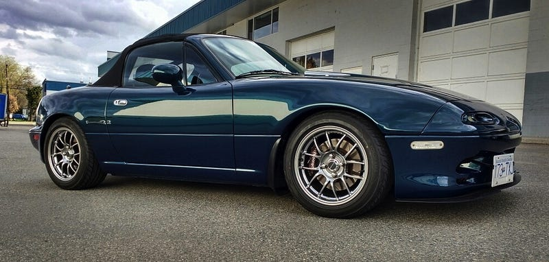 For 20 000 Ca Could This Custom 1994 Mazda Mx5 M Edition Be Memorable