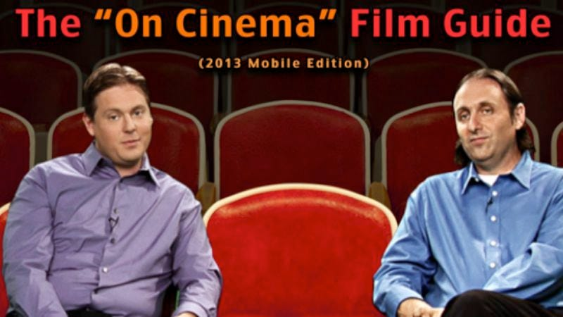 Illustration for article titled Tim Heidecker and Gregg Turkington's On Cinema is now a very meta app