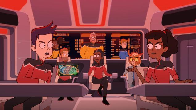 Lower Decks Tackles a Fundamental Truth of Star Trek