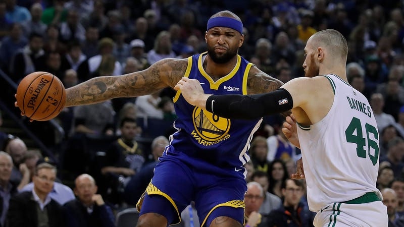 newest 7d19a 6fadf DeMarcus Cousins Struggles, Picks Up Technical Foul In Loss ...