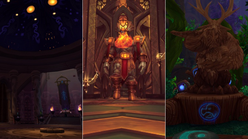 Illustration for article titled An Early Look At World of Warcraft: Legion's Class Halls