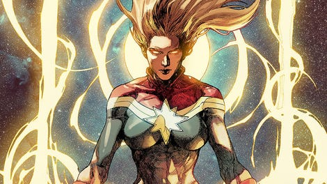 New Set Pictures Of Captain Marvel Reveal A Surprising First Look At