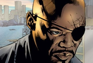Samuel L. Jackson as Col. Nick Fury