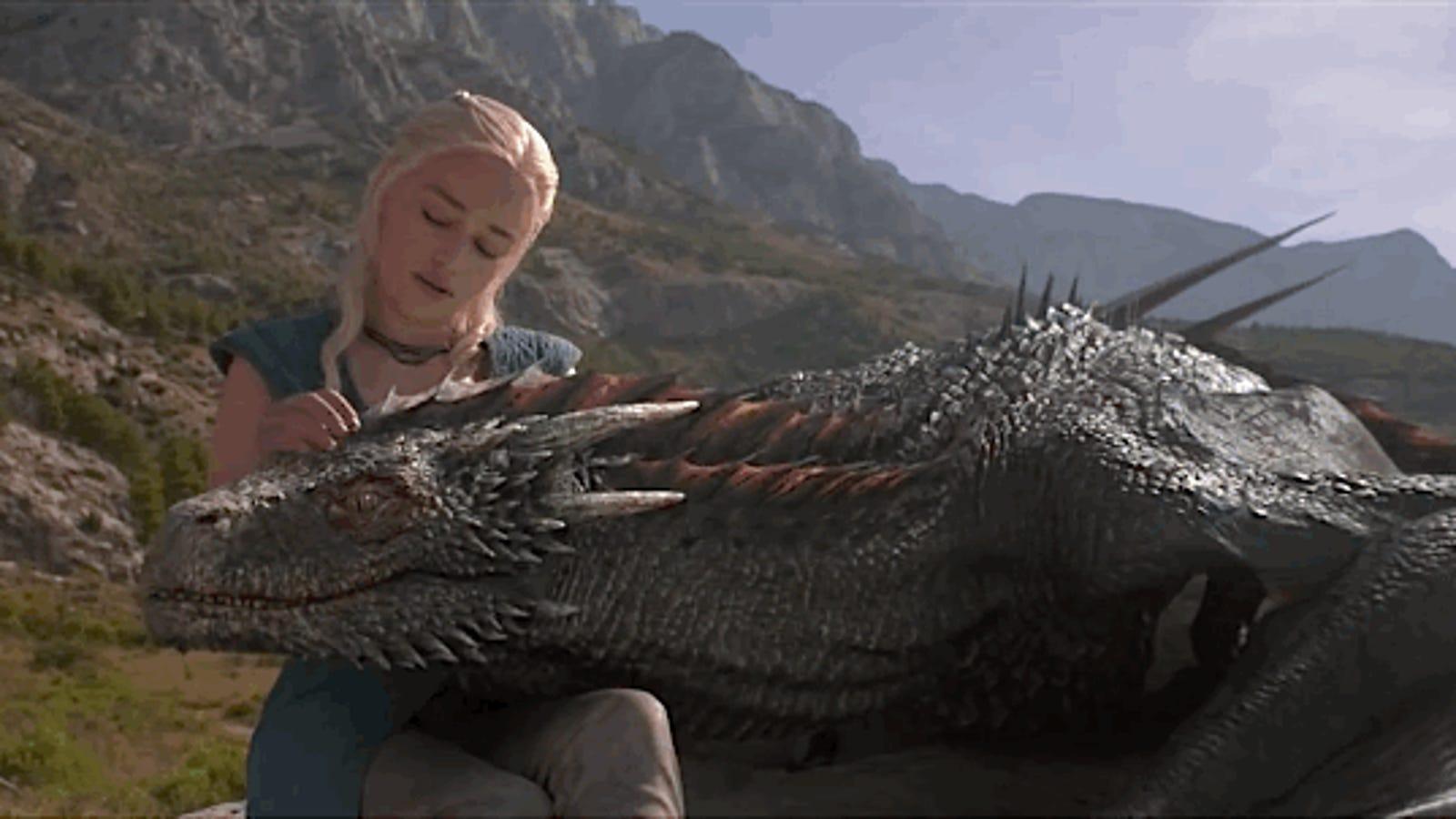 Así son los efectos que dan vida a los dragones de Juego de Tronos