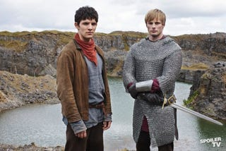 Illustration for article titled Merlin - 5.09 Promo Photos
