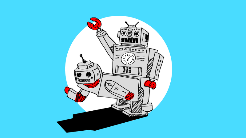 dating robots An automaton (/ ɔː ˈ t ɒ m ə t ən /  possibly dating as early as 1560  aree is an automaton instead of a robot for practical reasons — venus's harsh .