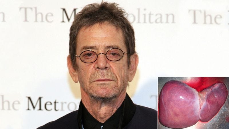 Illustration for article titled New Liver Complains Of Difficulty Working With Lou Reed
