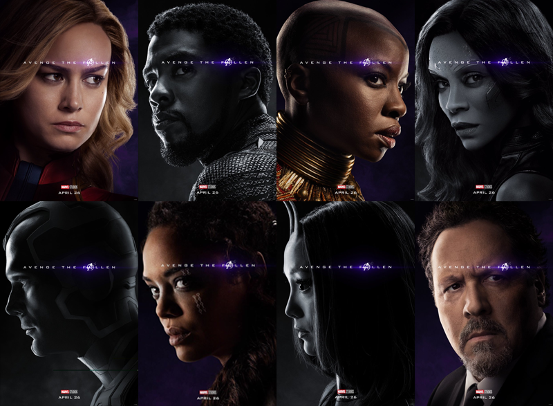 New Avengers Endgame Posters Reveal Who Survived The Snap