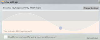 Illustration for article titled F.lux Changes Your Screen Brightness by Time of Day