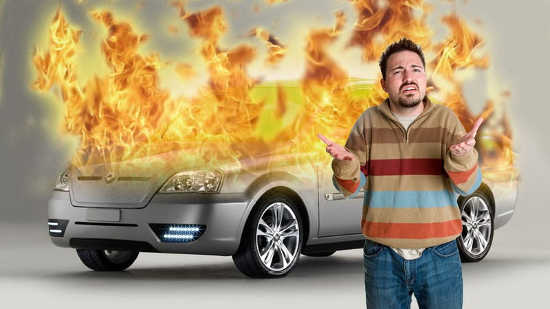 Illustration for article titled What To Do When Your Electric Car Catches On Fire: An Explainer