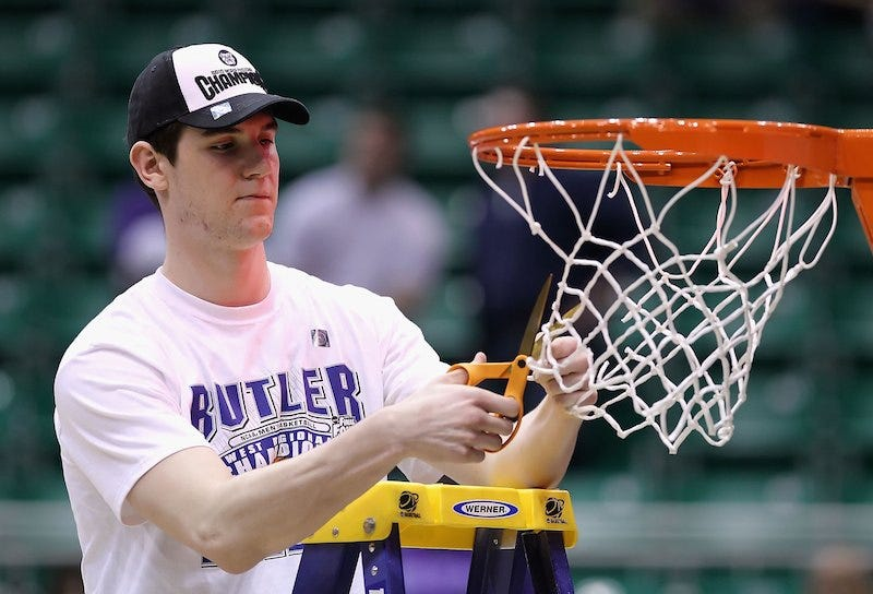 Illustration for article titled Former Butler Basketball Player Andrew Smith Dies Of Cancer