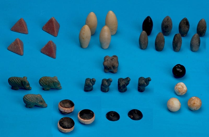 Illustration for article titled Archaeologists Just Found the Oldest Board Game Tokens Ever