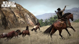 Illustration for article titled Red Dead Redemption Screens Feature Actual Cowboy Action