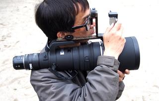 Rocket Camera : A rocket launcher camera rig shoots photos with deadly precision