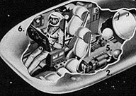 Illustration for article titled A Vibrator-Shaped Space Station (1961)