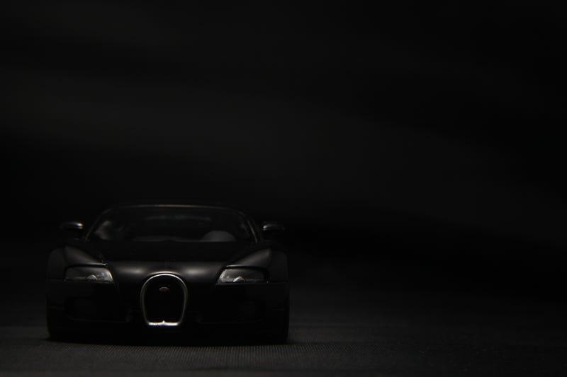 Illustration for article titled LaLD Car Week: Beautiful Black Bugatti