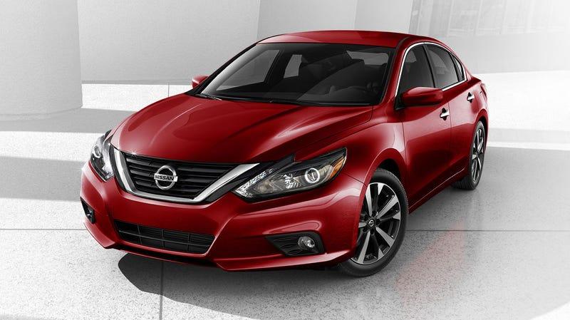 Illustration for article titled TIL: Nissan facelifted the Altima.