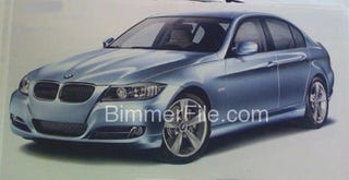 Illustration for article titled 2009 BMW 3-Series Brochure Scanned, Leaked, Flame Surfaced