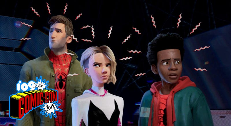 Into the Spider-Verse's Spider Fam.