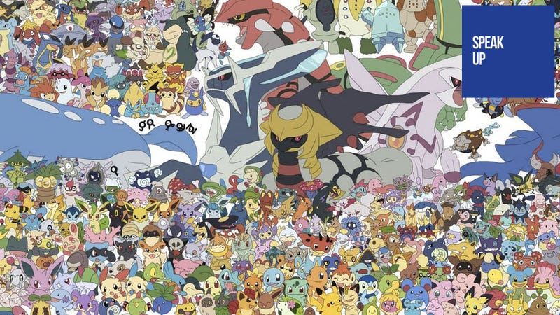 Illustration for article titled There Are Far Too Many Pokémon To Care About Anymore