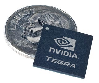 Illustration for article titled Nvidia Tegra All-in-One Mobile Processors Aim to Nuke Intel's Atom, Promise 30 Hours HD Playback