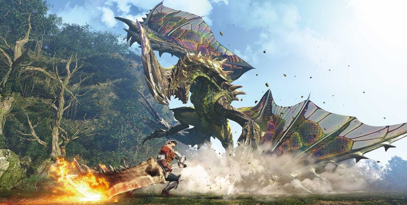 Illustration for article titled Hollywood Is Making A Monster Hunter Movie