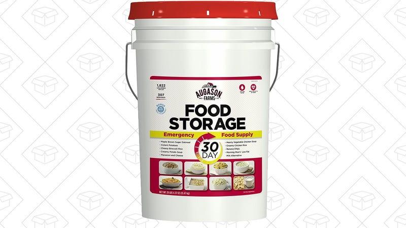 Augason Farms 30-Day Emergency Food Storage, $84