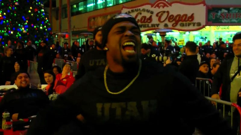 """Illustration for article titled Utah Lineman To BYU At Las Vegas Bowl Welcome Dinner: """"You're A Dirty Team"""""""