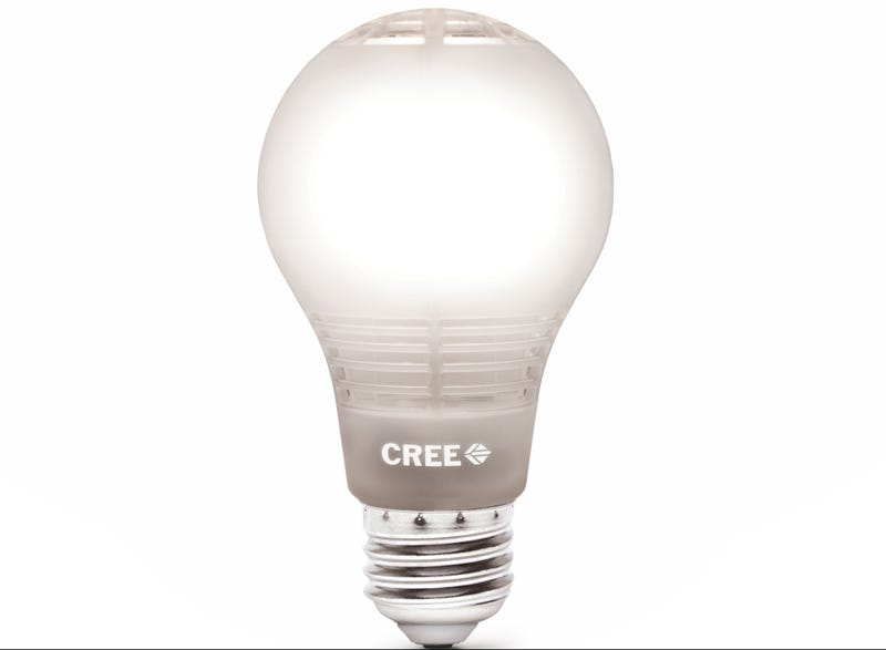 Illustration for article titled Cree's Latest LED Lightbulb Is a Bright Bargain