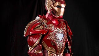 Iron Man Looks Very Fancy In Leather